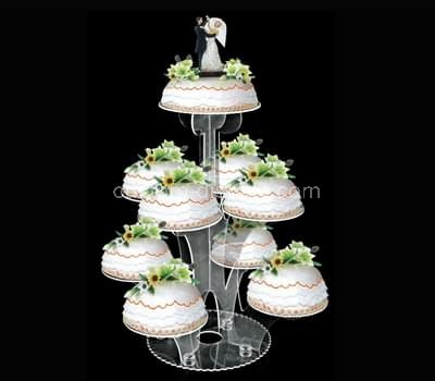 CSO-002-1 Acrylic wedding cake stand