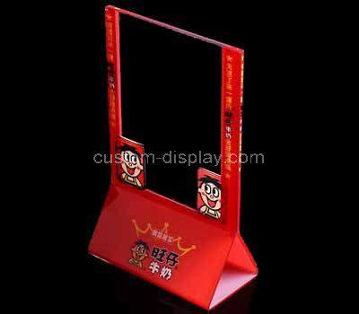 Custom acrylic sign holder