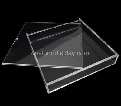 CSA-005-1 Sliding lid acrylic box
