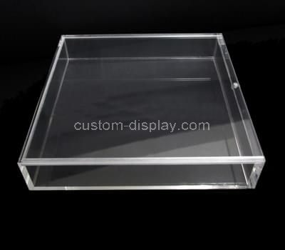 Sliding lid acrylic box