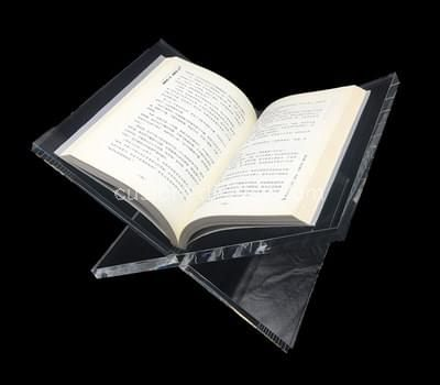 Acrylic open book stand