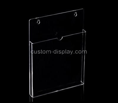 Plastic literature holders wall mounted