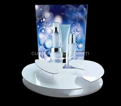 Acrylic cosmetic display stands