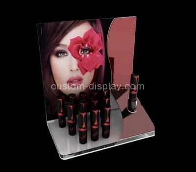 Acrylic cosmetic eyeliner counter display stand