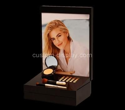 Acrylic blusher counter display stand