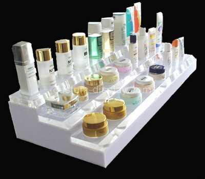 Acrylic skincare counter display holder