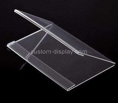 CSS-006-1 V shape acrylic price tag holder