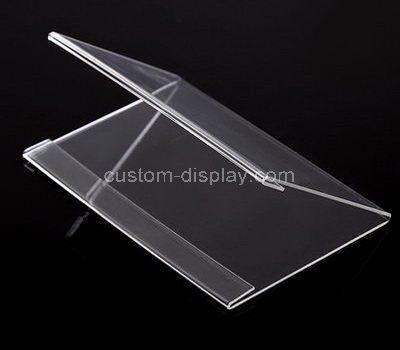 CSS-006-1 V shape acrylic price tag holder
