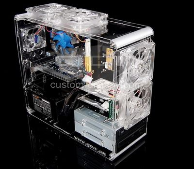 Clear computer case