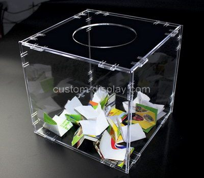 Raffle ticket box