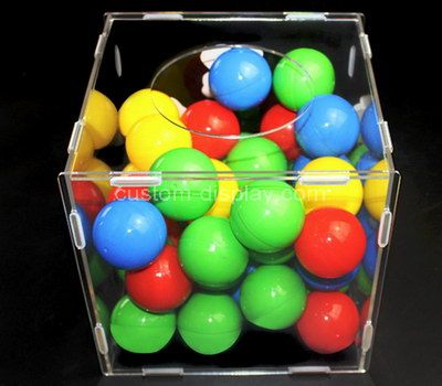 Acrylic raffle box