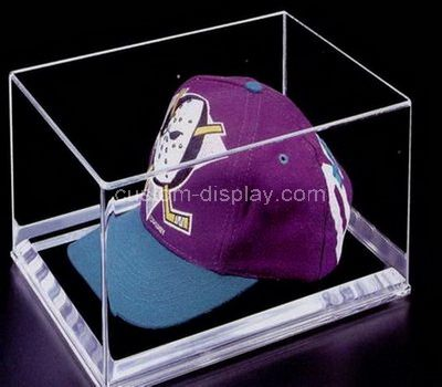 Acrylic hat display case