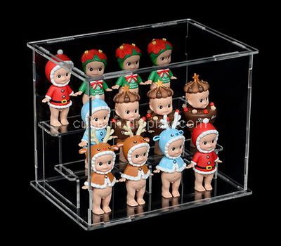 Collectible doll display cases