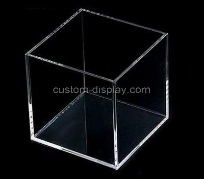 Clear plastic display boxes