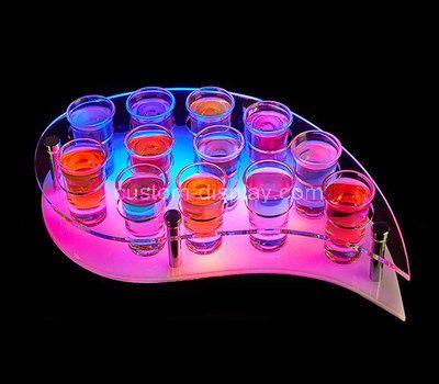 Shot glass collection display
