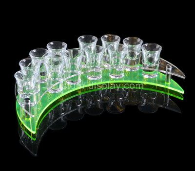 Shot glass display rack