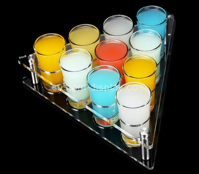 Shot glass set with holder