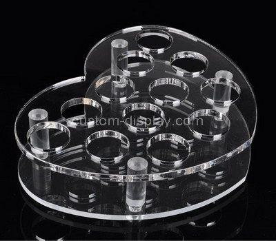 Shot glass candle holder