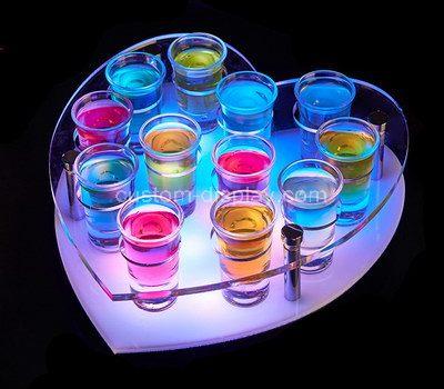 Shot glass holder display