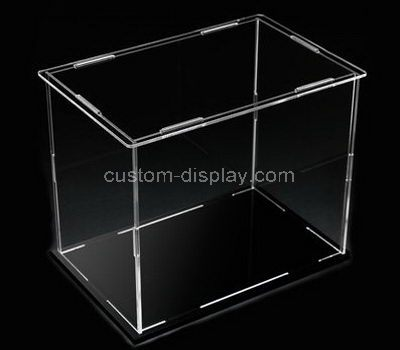 Clear acrylic display boxes
