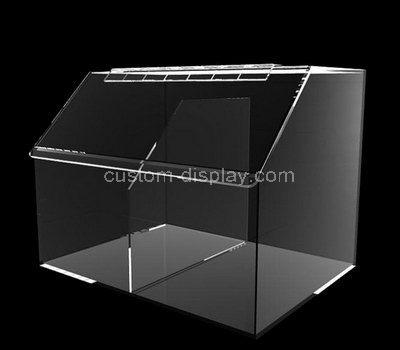 Acrylic display box with lid