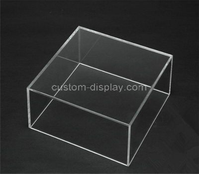 Clear perspex display boxes