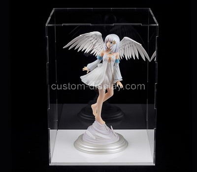 Acrylic doll display case 10x10x16