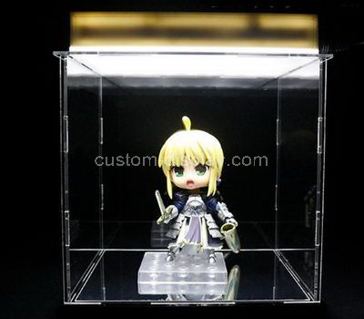 Large clear plastic display boxes