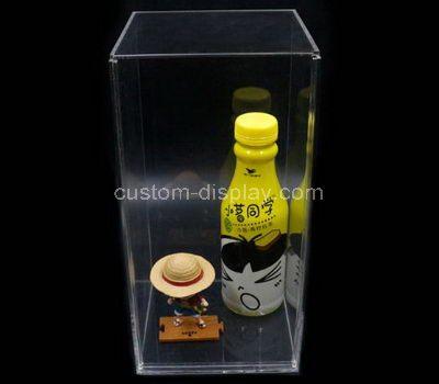 Tall acrylic display case