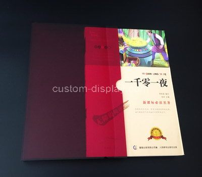 Custom slipcases for books