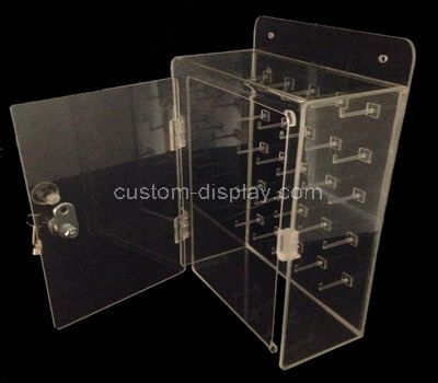 Acrylic case with lock