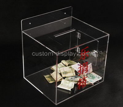Charity donation boxes