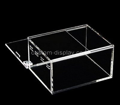 Acrylic box with sliding lid
