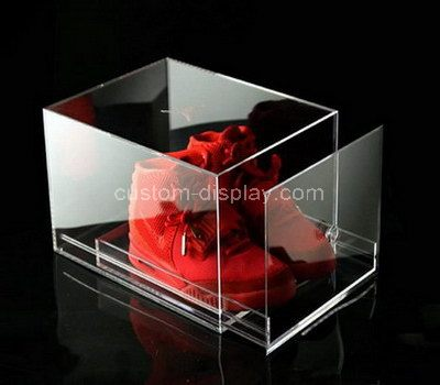 Acrylic shoe boxes