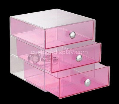 Acrylic display drawers