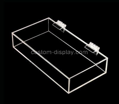 Clear acrylic boxes with lids
