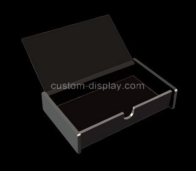 Small acrylic boxes with lids
