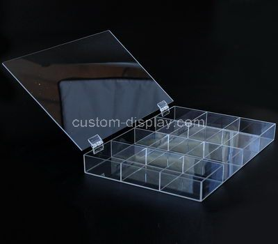 Small perspex display box