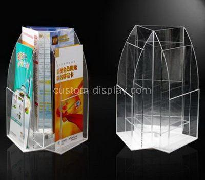 Plastic brochure holders