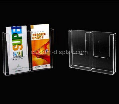 Wall mounted brochure holders