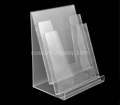 Clear brochure holder