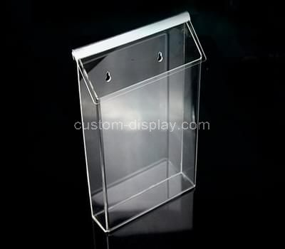Acrylic display box wall mount
