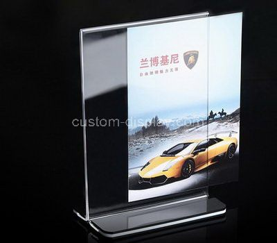 Acrylic poster holder