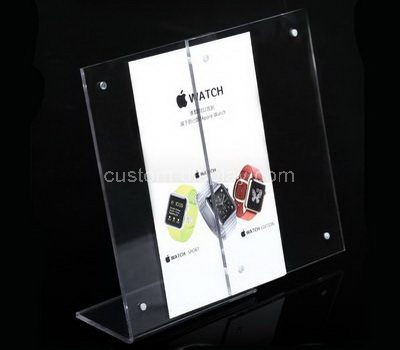 Acrylic tabletop sign holders