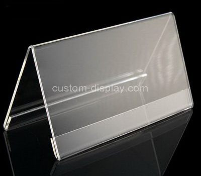 Plastic Table Tent Holders Plastic Stands For Signs Acrylic Signs - Plastic table tent holders