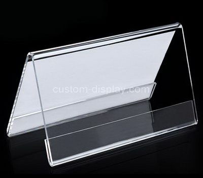 Double sided sign holder
