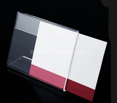 Acrylic tent card holder