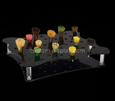 Mini ice cream cone holder stand