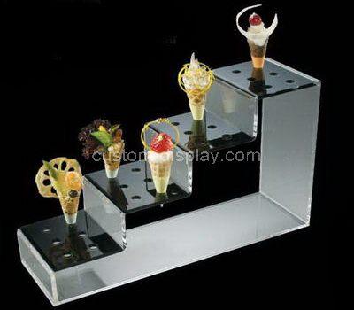 Plastic ice cream cone display