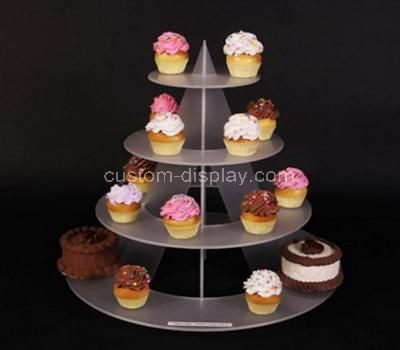 Acrylic 4 tier cupcake stand